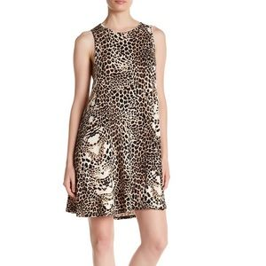 Tart Collections leopard print modal dress Small